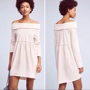 Saturday Sunday Off the Shoulder Cocoon Dress - S